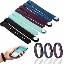 Buy High Soft Silicone Wristbands Replacement Strap Bracelet Fitbit Alta/ Fitbit Alta Tracker Smart WatchBand L Size for $2.60 in AliExpress store