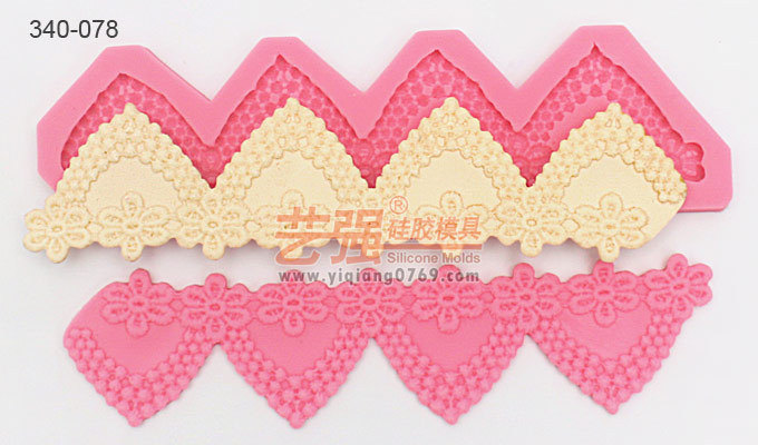 2014 Yiqiang Molds New Arrival free shipping australia silicone embossing fondant lace mold fondant cake decorating tools(China (Mainland))