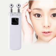 Portable Microcurrent Eye Massager Under-eye Bags Crow's feet Wrinkle Removal Skin Lift Eye Care Beauty Device(China (Mainland))