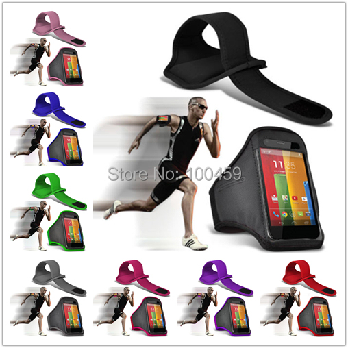 For Motorola Moto G Outdoor Travel Accessory Gym Sports Armband Case Cover With Free Shipping