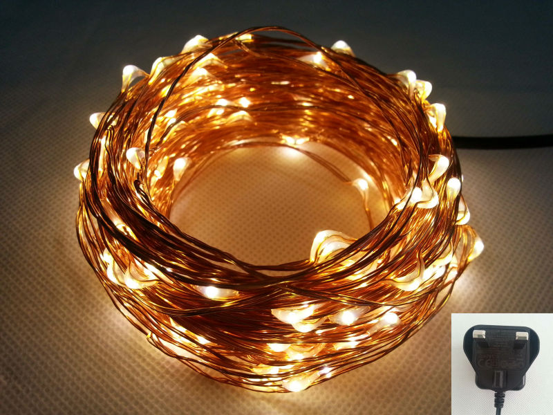 20M 200 Led UK Plug 100-240Vac Copper Wire String Fairy Lights Include UK Adapter For Holiday Christmas Wedding Party<br><br>Aliexpress