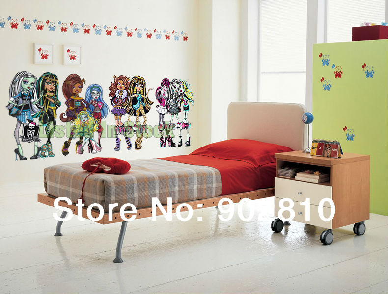 Decor ta chambre monster high id e - Range courrier mural design ...