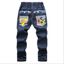 4Color Summer Spring Jeans For Boy Camouflage Baby Boys Jeans Pants Designer Kids Jean Children Elastic