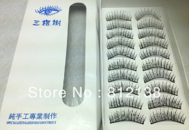 wholesale Free shipping 10pair per box Eye lash , 5box /lot Hot Sell Products