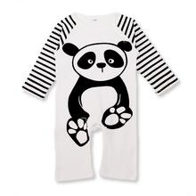 Cute Catoon Animals Infant Baby Newborn Boy Girls Animal Print Romper Jumpsuit Outfit Clothes