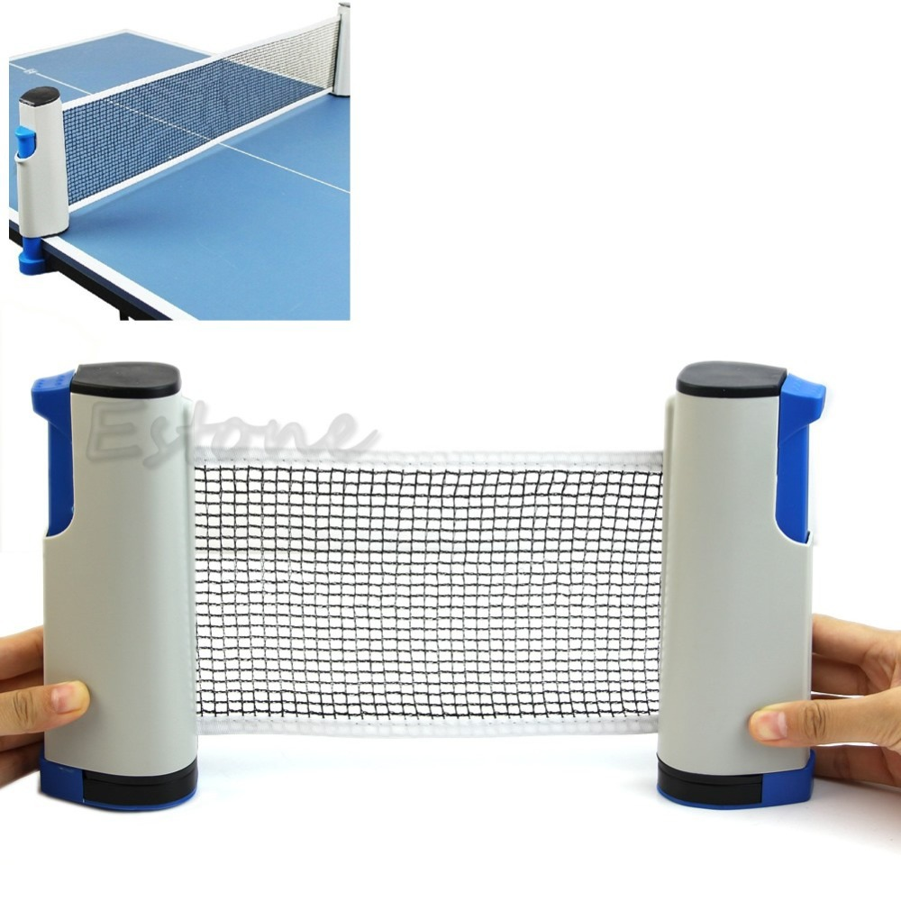 Гаджет  B39 Newest Retractable Table Tennis Ping Pong Games Portable Net Kit Replacement Grey free shipping None Спорт и развлечения