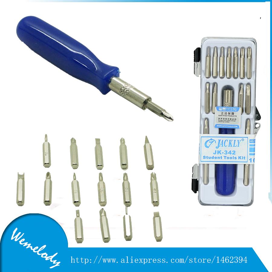 jackly 16 in 1 precision torx screwdriver set opening tools kit set mobile phone repair for. Black Bedroom Furniture Sets. Home Design Ideas