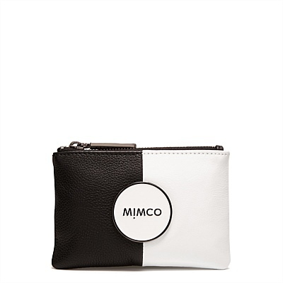 MIMCO Mim small Pouch black white tandem small pouch wallet<br><br>Aliexpress