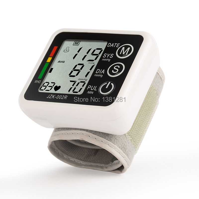health care Digital Automatic Wrist Blood Pressure Monitor meter blood pressure measurement, health monitor Sphygmomanometer<br><br>Aliexpress