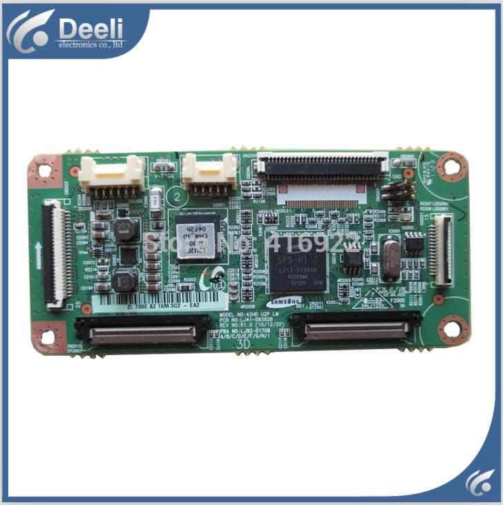95% New original for pt42638nhdx logic board lj41-08392b lj92-01708a 2pcs/lot on sal<br><br>Aliexpress