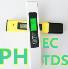 Buy Protable LCD Digital PH Meter TDS EC Pen Water Purity PPM Filter Hydroponic Aquarium Pool Water Wine Urine Tester 15% for $12.40 in AliExpress store