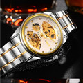 BOSOK668 new men s mechanical watches high end leisure hollow out watches luxury fashion watch business