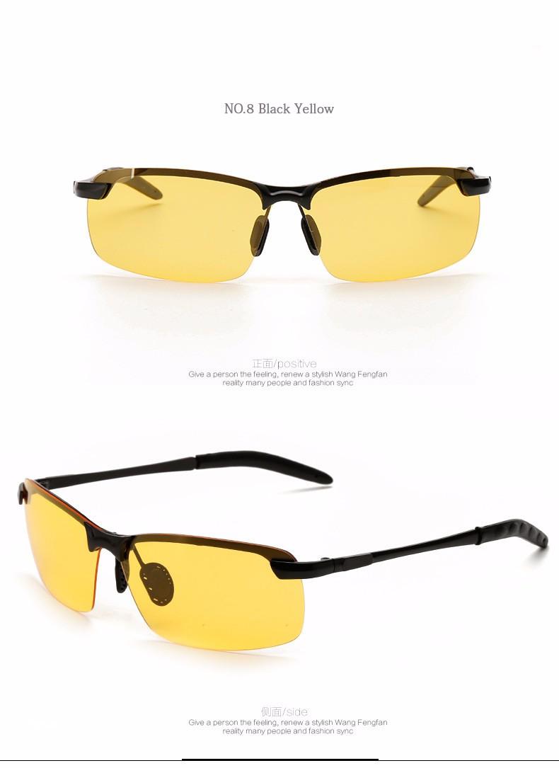 2017 Polarized Sunglasses Men Car Driving Glasses Anti-glare Driver Sun Glasses Men Okly Goggles Eyewear Male Accessories 3034