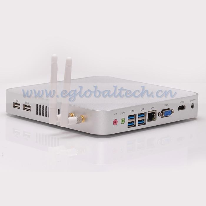 Мини ПК Eglobal/OEM Intel Celeron 1037U /hm77 usb3.0/2.0 VGA HDMI RJ45 UMPC 4G 64G SSD V2-C1037UB мини пк eglobal oem intel celeron 1037u 1 8 hm77 pc 12v xbmc v2 c1037ub
