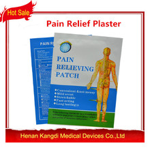 With Retail Box 60Pcs Lot Pain Relief Plaster Chinese Medical Body Pain Patch 7x10cm Health Care