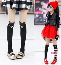 Hot! 2015 spring and autumn very fashion elastic Girls Stocking children tights 5 cartoon pattern buy 2 pics 10% off  discount