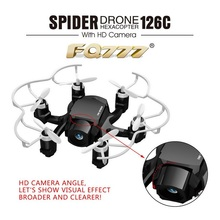 2016 Newest FQ777-126C Mini Camera Drone With 2MP HD Camera 3D 2.4G 4CH 6Axis Gyro RC Quadcopters Switch Headless Super Mini