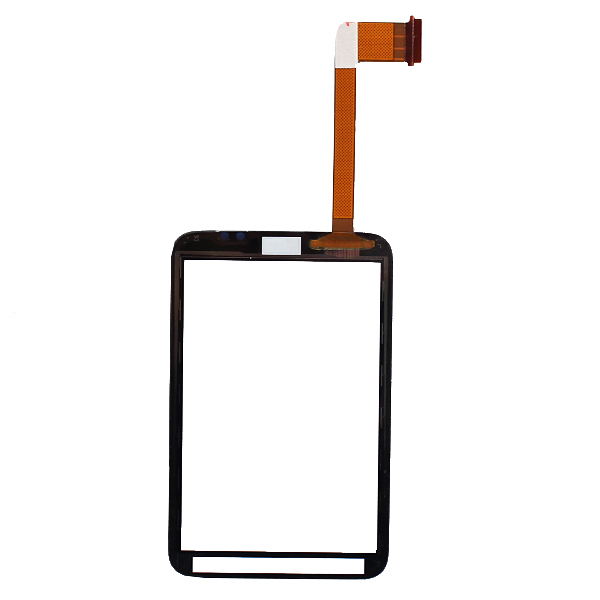 Black touch screen with digitizer for HTC Wildfire S G13 touchscreen repalcements,Free shipping with track code