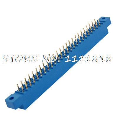 3.96mm Pitch 50P Pin Card Edge Connector Blue for PCB Board(China (Mainland))
