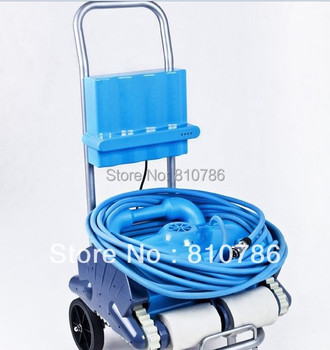 Free Shipping Swimming pool auto cleaning equipment,Newest type Robotic vacuum pool cleaner