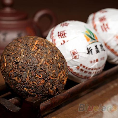 Xin Yi Hao Menghai Tuo Cha Puer Tea 100g Ripe 08FN