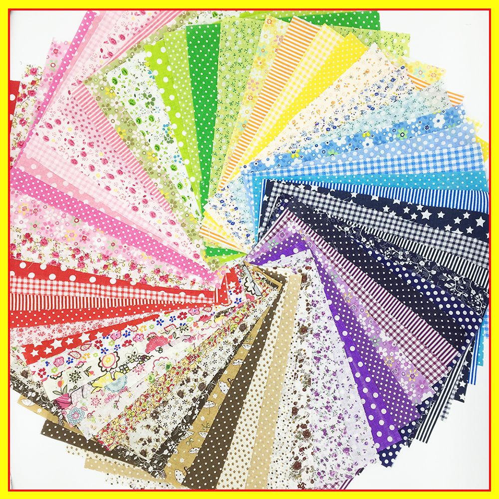 20cmx24cm 50pcs promotion cotton fabric patchwork floral series quilting bundle sewing tissue for fabric patchwork tilda fabric(China (Mainland))