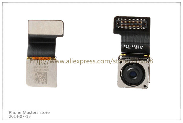 20pcs/lot Main Camera Video Cam Back Rear Big Camera Flex Ribbon Cable Part for iPhone 5S 5GS free shipping by DHL EMS