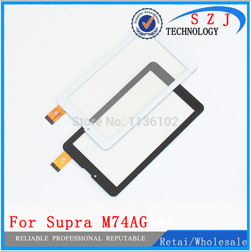 "New 7"" inch For Supra M74AG Tablet touch screen Touch panel Digitizer Glass Sensor Free Shipping(China (Mainland))"