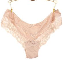 Sexy Lady Lace Underwear Pants Fashion Intimates Briefs female underwear(China (Mainland))