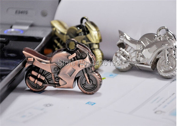 2015 Fashion Metal Motorcycle 2G/4G/8G/16G/32G 64GB USB flash Pen Drive Cool USB Flash Drive Pendrive Free Shipping(China (Mainland))