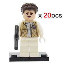 Star Wars Minifigures 20pcs/lot Clone Trooper Stormtrooper Darth Vader Yoda Corps Republic Solider Toys Compatible legoelieds(China (Mainland))