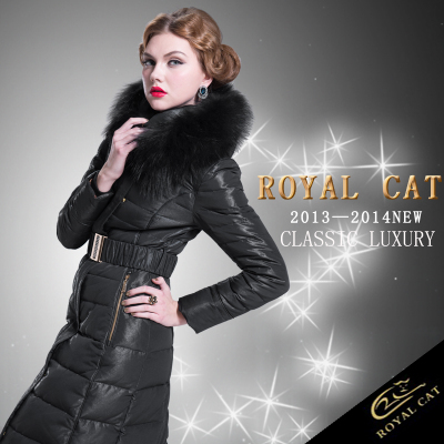 2016 Winter Jacket Women Brand Parka duck jackets X-long Large Raccoon fur Hooded Outwear coat - Xuzhou jingjing international trading company store