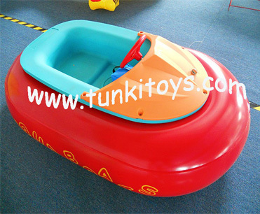 summer best-selling kids aqua inflatable electric water bumper boat for sale(China (Mainland))