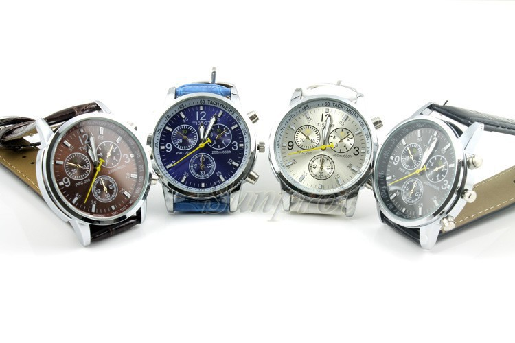 unisex leather watches luxury brand big