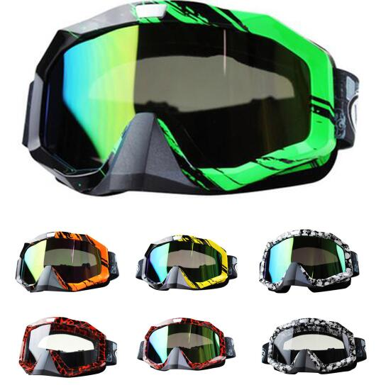 HOT Snowboard Motocross Off-Road Racing Glasses Eyewear Ski Motorcycle Snowmobile ATV DH Skate Goggles Single Lens Clears<br><br>Aliexpress