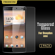 Tempered Glass Screen Protector Oneplus one One Plus 1 Ultra Thin HD Toughened Protective Film + Cleaning Kit - Meilaier Store store