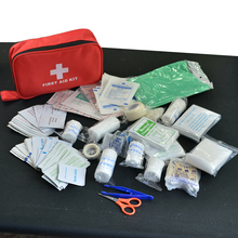 180pcs/pack Safe Travel First Aid Kit Camping Hiking Medical Emergency Kit Treatment Pack Set Outdoor Wilderness Survival (China (Mainland))