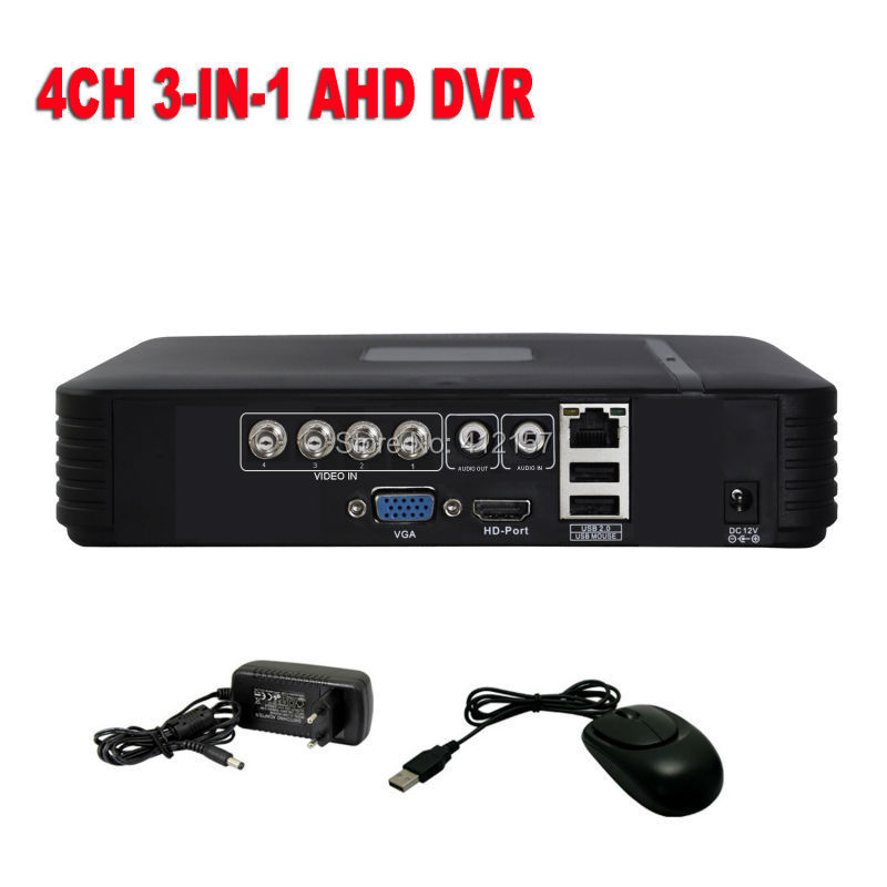 Security CCTV 4CH Full D1 DVR H.264 Realtime Standalone Network Mini Surveillance Digital Video Recorder - universal direct store