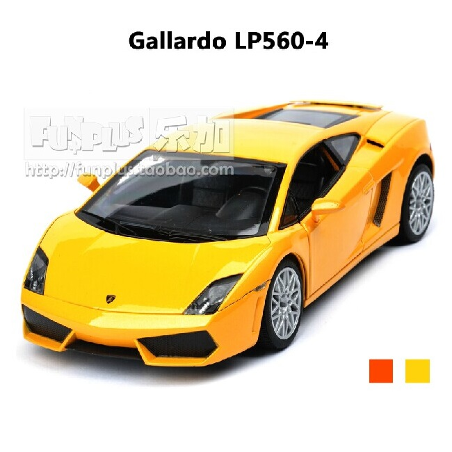 High Simulation Exquisite Baby Toys: RAStar Car Styling Gallardo LP560-4 Supercar 1:20 Alloy Sports Car Model Excellent Gifts(China (Mainland))