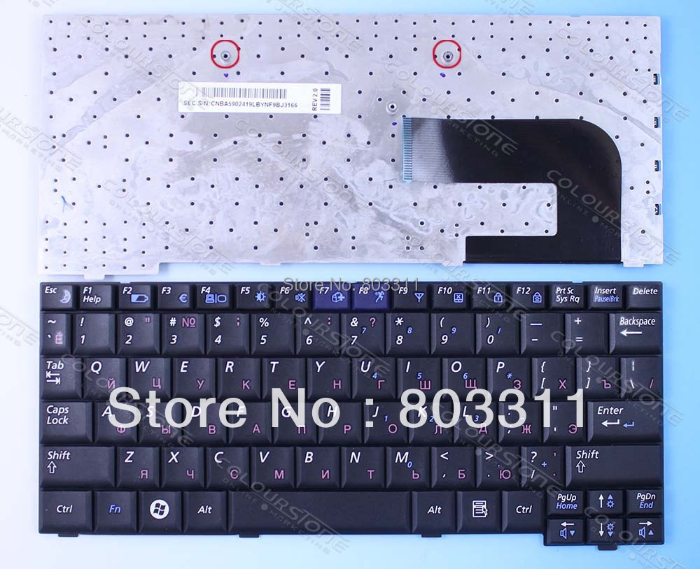 Notebook samsung games - Free Shipping Brand New Russia Laptop Keyboard Not