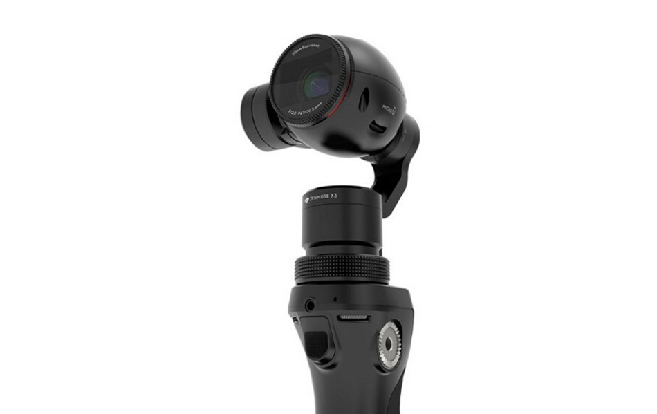 DJI Osmo Part 25 Gimbal and Camera with 4K video and 94 wide-angle prime lens free shipping