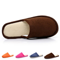 2015 New Design Five Colors Indoor Slippers Women Men