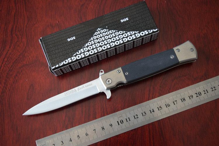 OEM SOG KS931Tactical Folding knife Hunting knives Survival Camping Tool Outdoor Gift Knives Drop Shipping