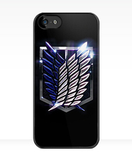 Attack on Titan Scouting Legion cases for iPhone 4s 5s 5c 6 6s iPod touch 4 5 6 Samsung Galaxy s2 s3 s4 s5 mini s6 note 2 3 4 5