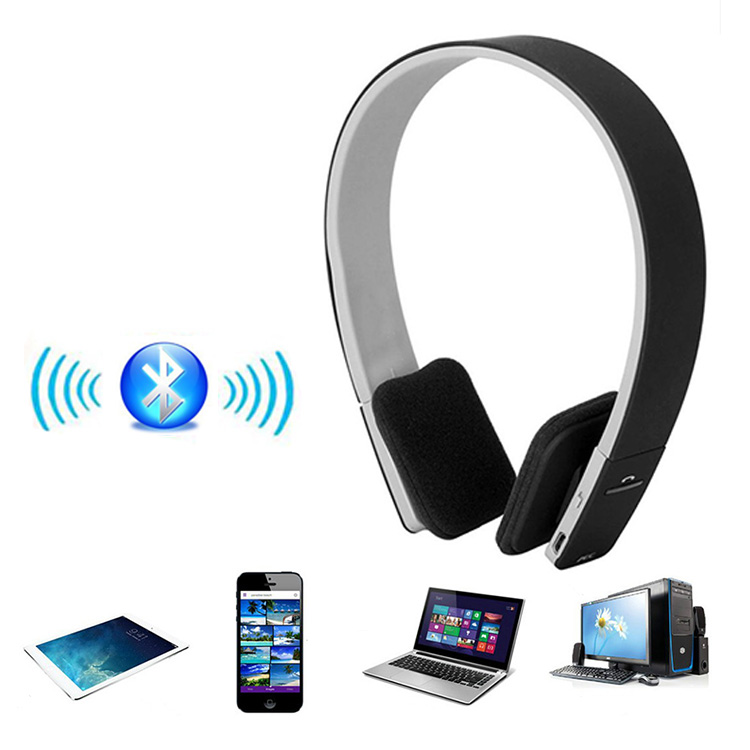 AEC Bluetooth Headphone Noise Reduction Wireless Headset Audifonos For Phone Laptop Smartphone Tablet Stereo Headphones(China (Mainland))
