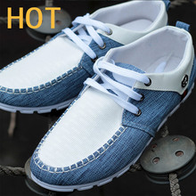 Korea Edition Men Shoes Spring And Autumn 2015 Men Breathable Linen Shoes Hot Sale Driving Fashion Leisure Sneakers Flat Shoes(China (Mainland))