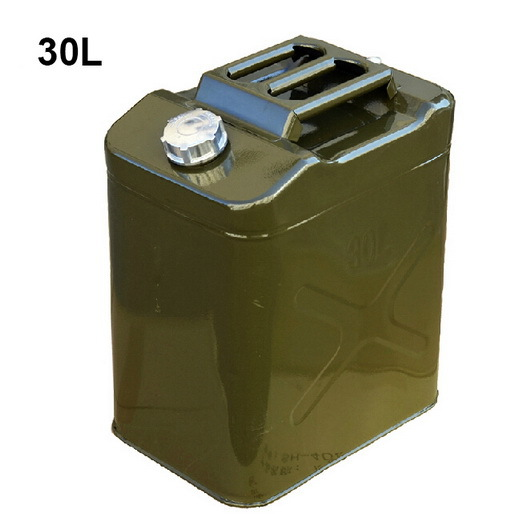 30L Steel Oil Tank Petrol Bucket for Pickup Trucks Oil tank Gasoline Storage Container Petrol Cans Petrol Bucket