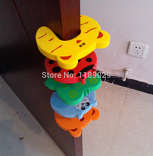 New 5pcs lot Cartoon Animal Baby Kids Toddler Child Safety Care Security Door Stopper Corner Protector