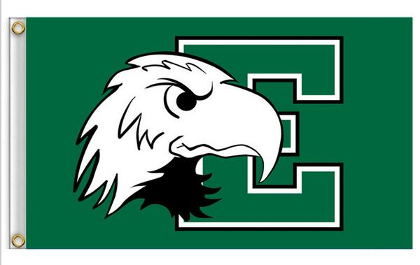 Purdue Boilermakers Eastern Michigan Eagles House Divided Flag 3ft x 5ft Polyester NCAA Banner Flying Size No.4 150* 90cm(China (Mainland))