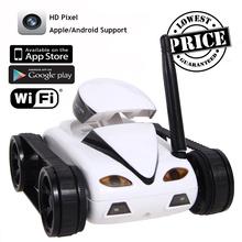 NEUE 2016 Mini RC Ich Spion Tank Auto Video 0.3MP Kamera 777-270 WiFi Fernbedienung Durch Iphone Android Weiß EMS Foto RC Auto 4CH APP(China (Mainland))